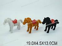 Лошадь заводная, 3 вида, в кор. 19х4х13 /288-2/(2922)