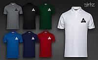 Мужская  футболка  поло Palace( лого черный)