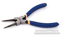 Щипцы для снятия стопорных колец Miol 180мм (прямые сжим) 43-035