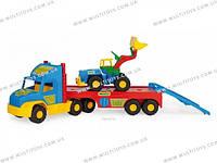 """Машина """"Super Truck"""" с трактором Тигрес/3/(36520)"""