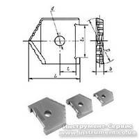 Пластина сменная для перового сверла Ф 35 мм (2000-1217) Р6М5 Орша
