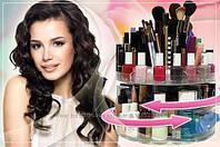 Органайзер для хранения косметики настольный Glam Caddy