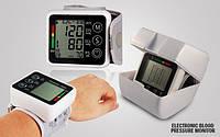 Тонометр электронный на запястье Electronic blood pressure monitor JZK-002R