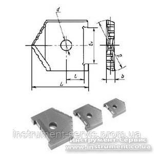 Пластина сменная для перового сверла Ф 40 мм (2000-1223) Р6АМ5