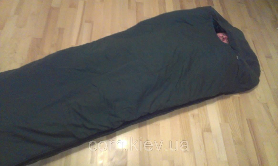 Теплый спальный мешок