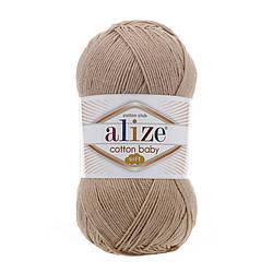 Пряжа Коттон бэби софт Cotton Baby Soft  Alize, № 298, св. беж