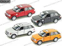 KINSMART Range Rover Sport, метал, инерц., в кор. 16х8х7 /96-4(KT5312W)