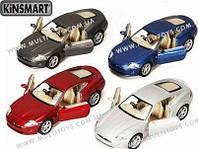 KINSMART Jaguar XK Coupe, метал, инерц., в кор. 16х8х7 /96-4/(KT5321W)