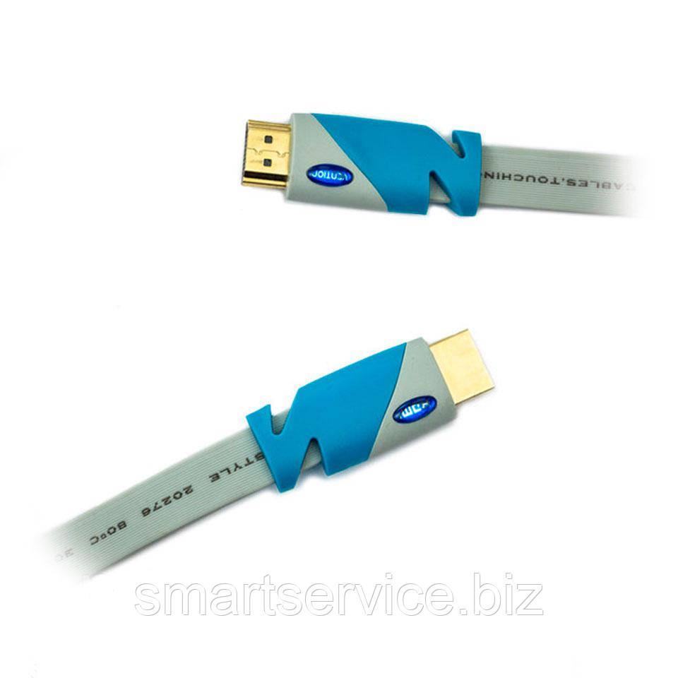 Плоский HDMI кабель V1.4 (1,5 метра)