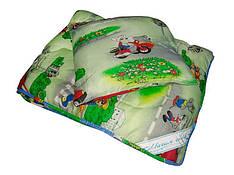 ОДЕЯЛО МАГИЯ СНОВ детское с подушкой 45*45 наполнитель холофайбер, ткань поликотон 110*140