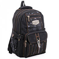 Городской рюкзак из ткани GoldBe арт. B757Black-11