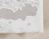 Раскраска по номерам Спящие малыши, 40х50см. (КНО4048), фото 4