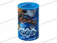 Точилка с контейнером бочонок Max Steel /24/720//(MX14-118К)