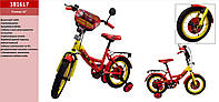 Велосипед детский двухколесный Тачки, 16 дюймов
