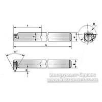 Резец резьбовой внутренний 25х16х170 Т5К10 (ЧИЗ) ИР- 084