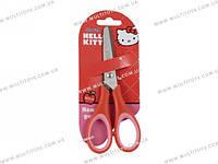 Ножницы  детские с резин. вставками, 13см Hello Kitty /1/12/240/(HK13-123K)