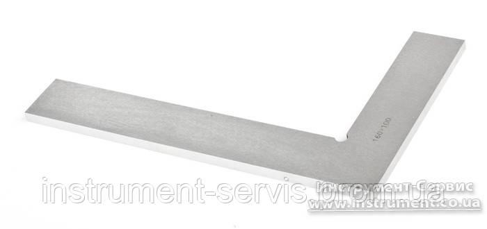 Угольник УП 400х250 поверочный слесарный плоский кл.1 (Техносталь, F146029)