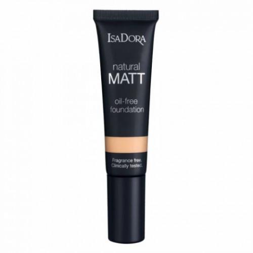 Тональная основа Natural Matt Oil-Free №12 Sand IsaDora