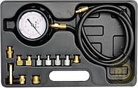 Профессиональный тестер измерения давления масла с адаптерами 12 шт. Yato YT-73030