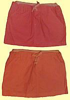 Юбка для девочки, тканевая, короткая
