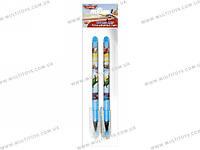 Ручки шарик. синие, 2 шт. в пакете 20х6х1см /48/384/(PLBB-US1-116-H2)