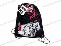Сумка-рюкзак для обуви. Размер43х34см, /12/24/96шт.(STWU-12T-881)