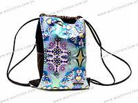 Сумка-рюкзак для обуви. 40(43)x30(34)см /12/24/96шт.(CTER-12T-885b)