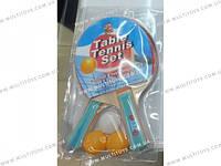Теннис наст.BT-PPS-0032 ракетки (1см,цвет.ручка)+3мяча пласт.ш.к./50/(BT-PPS-0032)