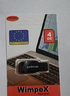 WIMPEXUSB 4 GB, Флеш накопитель 4 ГБ, Флешка, USB накопитель, Карта памяти, Usb флешка