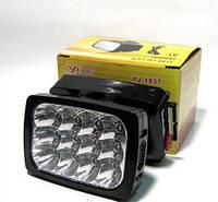 Налобный светодиодный фонарик YJ 1837, Аккумуляторный налобный фонарь, 2 режима работы ,Налобный фонарик