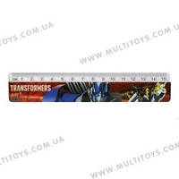 Линейка пласт., 15см Transformers /1/48/720/(TF15-090K)