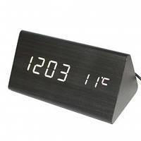 Стильные электронные часы VST 861-6 (дата/температура/управления голосом)