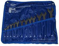 Набор ключей комбинированных 12 шт. 6 - 22 мм, CrV, фосфатированные (15477) Сибртех