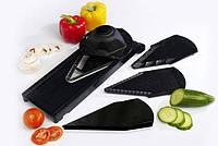 Терка овощерезка V Slicer Master Cut 2, терка со сменными лезвиями/насадками