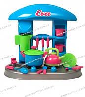 Стол-кухня Ева (чайник+кастрюля+...) в коробке /3/(04-407)