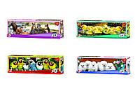 """Пазлы 220 эл. (8шт.) Лео Люкс """"В мире животных"""", 8шт в блоке, 12 блоков в упаковке, 96(210)"""