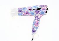 Фен для волос Astor TC-1035, стильный фен для укладки волос, сушка для волос, профессиональный фен