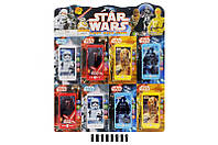 Телефон мобильный Star Wars 8 шт. на планш. 57,5*50 см. /36/(8015)