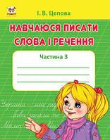 Прописи: 4+Навчаюсь писати слова і речення укр.  /50/(Талант)