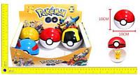"""Покебол с фигуркой BT-PG-0003 """"Pokemon GO"""" 10см 6шт.в кор.ш.к./288/(BT-PG-0003)"""
