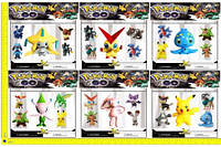 """Покемоны BT-PG-0006 """"Pokemon GO"""" 5 фигурок по 2"""" и 4"""" 6в.лист ш.к./108/(BT-PG-0006)"""