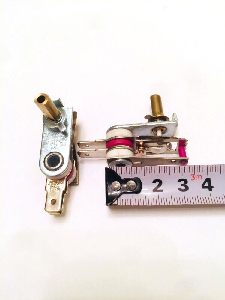 Терморегулятор KT094 / 250V / 10A / h=15мм(Турция)