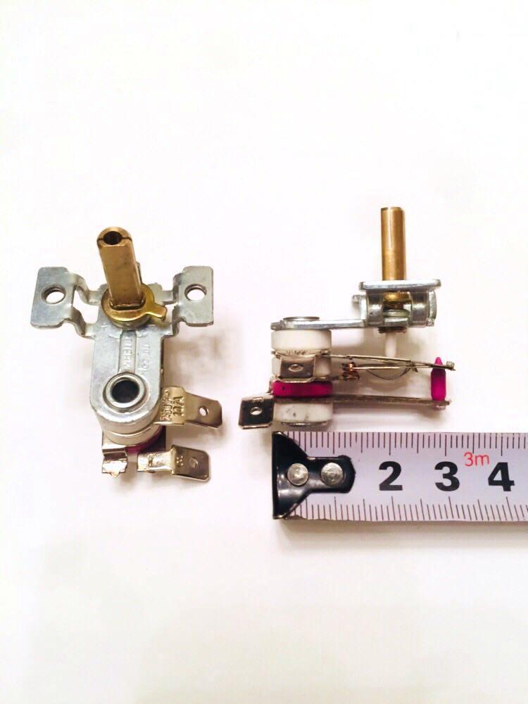 Терморегулятор TT001 / 250V / 10A / h=20мм(Турция)