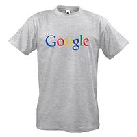 Футболки с логотипом Google