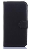 Кожаный чехол-книжка для Samsung Galaxy Core Prime SM-G360H черный