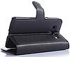 Кожаный чехол-книжка для Samsung Galaxy Core Prime SM-G360H черный, фото 3