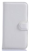 Кожаный чехол-книжка для Samsung Galaxy Core Prime SM-G360H белый