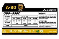 Блок питания chieftec retail a-90 gdp-550c