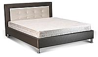 Кровать 160х200 с мягким изголовьем Дельта