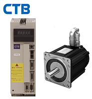 Комплектный сервопривод CTB 3800 Вт 1500 об/мин 24 Нм фланец 192 мм 380В (замена двигателя 3МТА, 4МТА)